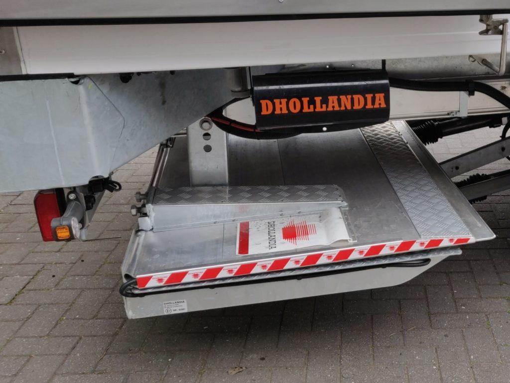 Koeltrailer SOR DHOLLANDIA Laadlift