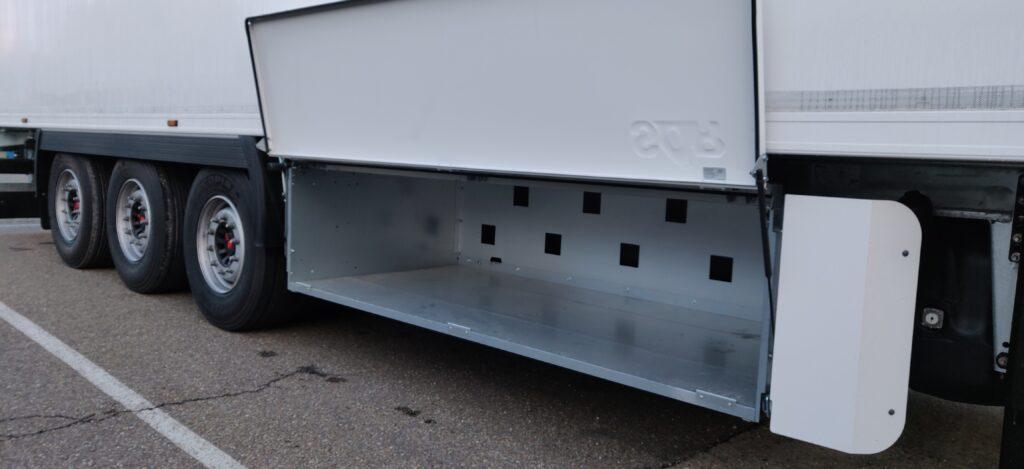 SOR België koeltrailer - Palletbak