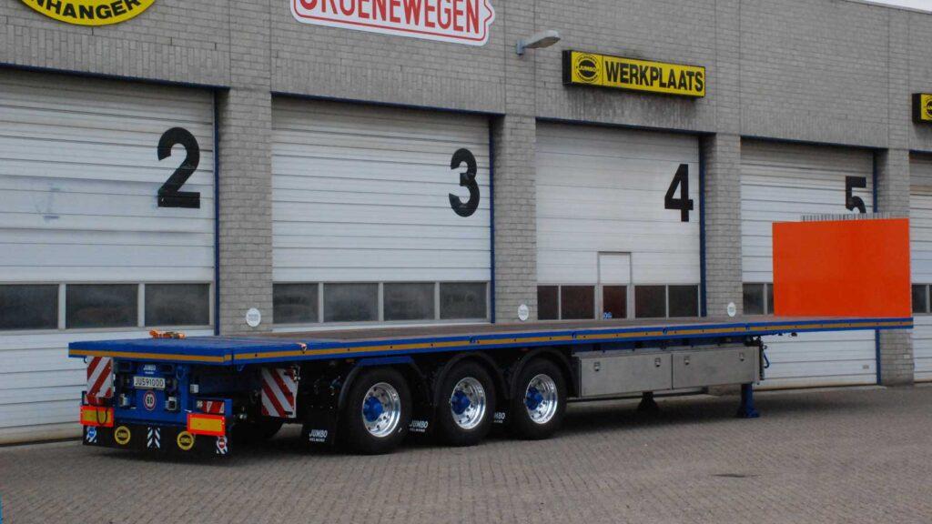 Plateau trailer - Jumbo Groenewegen - België