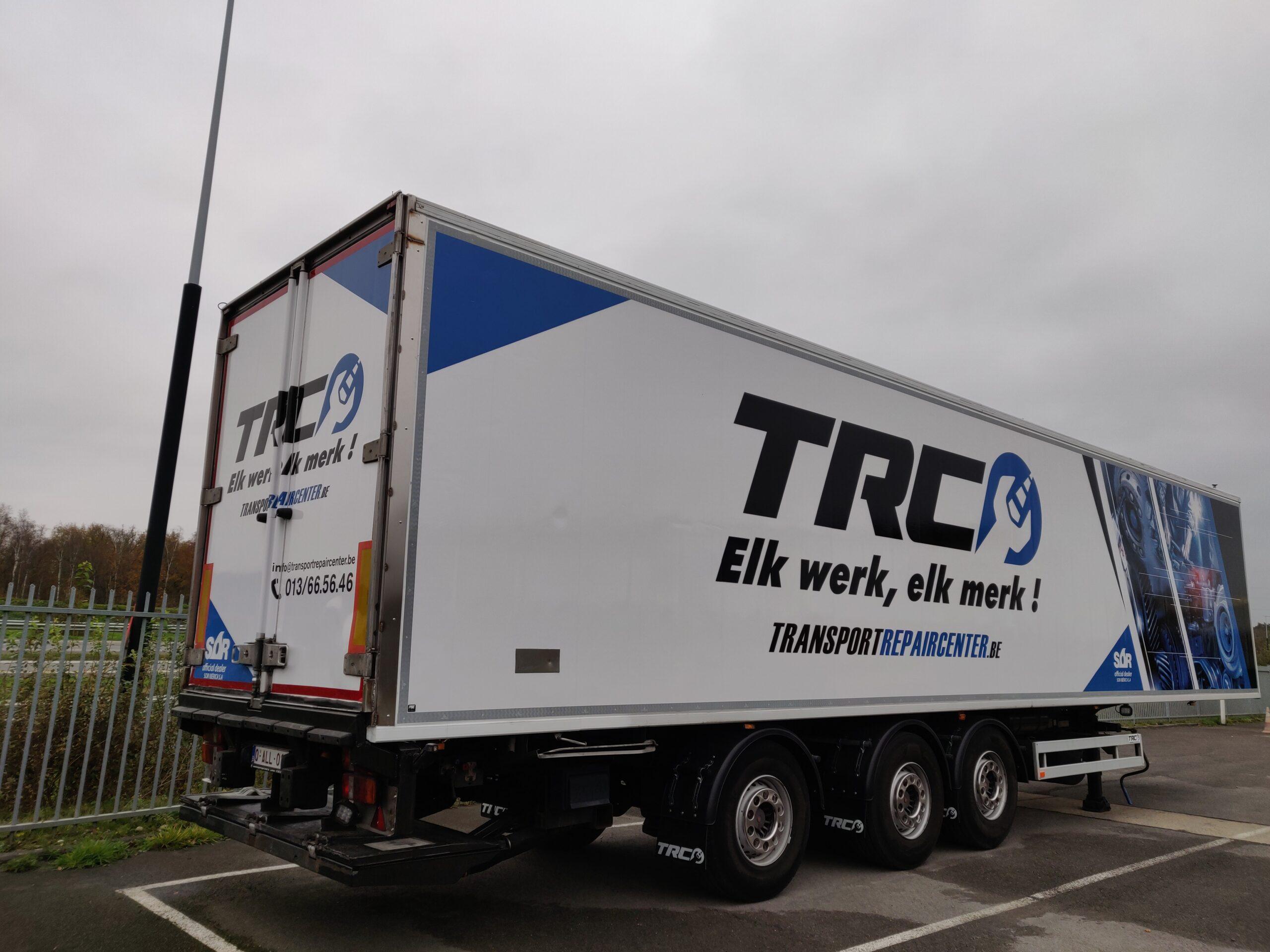 Koeltrailer te huur - TRC Renting