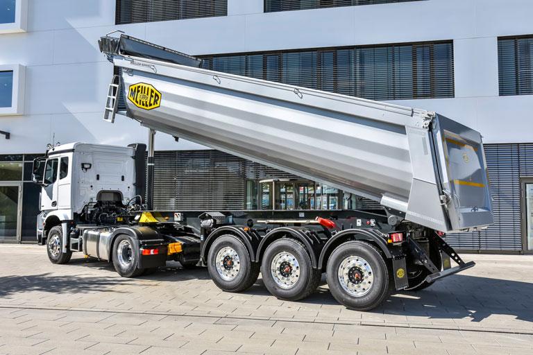 Meiller trucks & trailers - België